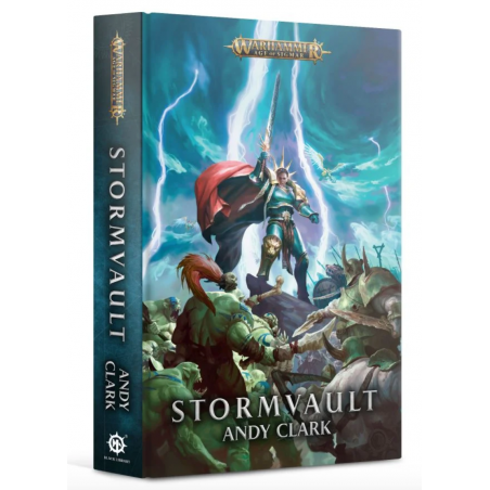 STORMVAULT andy clark BLACK LIBRARY libro IN INGLESE warhammer AGE OF SIGMAR
