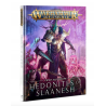 HEDONITES OF SLAANESH manuale CHAOS BATTLETOME a colori IN ITALIANO warhammer AGE OF SIGMAR età 12+ Games Workshop - 1