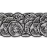 SET DI 32 MONETE in metallo PER PREDONI DI SCIZIA gioco da tavolo IN ITALIANO età 12+