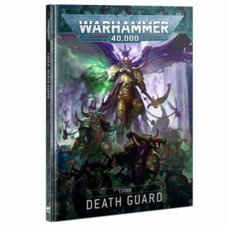 DEATH GUARD warhammer 40k CODEX manuale IN ITALIANO games workshop CITADEL età 12+