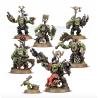 WARBOSS GRUKK'S BOSS MOB 7 miniature ORKS warhammer 40k GAMES WORKSHOP età 12+
