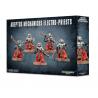 ELECTRO PRIESTS 5 miniature ADEPTUS MECHANICUS warhammer 40k GAMES WORKSHOP età 12+