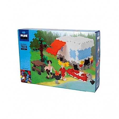 NATURE CAMPER costruzioni MINI BASIC in plastica PLUS PLUS 760 pezzi PLUSPLUS gioco MODULARE età 5+