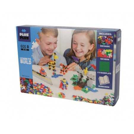 STARTER costruzioni MINI BASIC in plastica PLUS PLUS 600 pezzi PLUSPLUS gioco MODULARE età 5+
