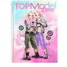 ALBUM creativo TOP MODEL topmodel DANCE da colorare JILL JENE con accessori