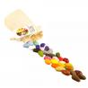 CRAYON ROCKS pastelli a cera SET DI 32 COLORI con sacchetto in cotone CERA DI SOIA età 3+