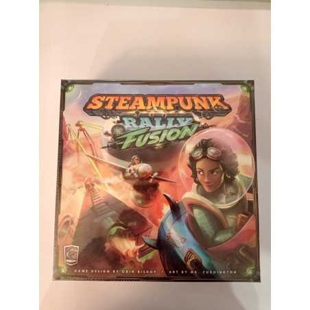 STEAMPUNK RALLY FUSION ATOMIC DELUXE with Kickstarter Promos 2020 exclusive Roxley Games