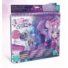 ALBUM creative sketchbook NEBULOUS STARS cavalli fantastici FIRIAZ creativo ARTISTICO età 7+