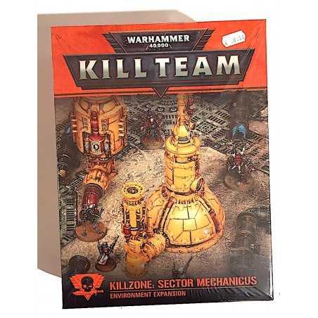 KILLZONE SECTOR MECHANICUS environment expansion KILL TEAM warhammer 40k GAMES WORKSHOP età 12+