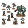 COMBAT PATROL warhammer 40k DARK ANGELS 10 miniature CITADEL games workshop SET età 12+