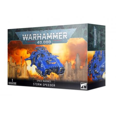 STORM SPEEDER space marines 1 MINIATURA warhammer 40k CITADEL games workshop MEZZO età 12+