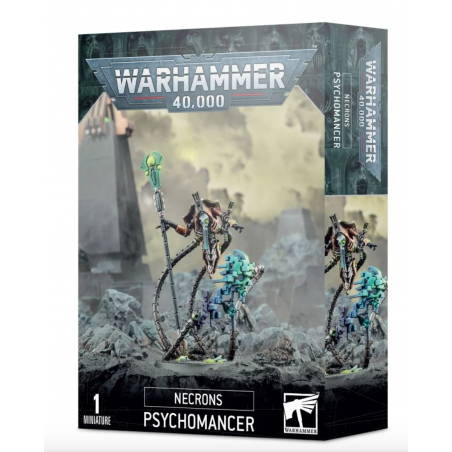 PSYCHOMANCER 1miniatura NECRONS warhammer 40k CITADEL games workshop PERSONAGGIO età 12+