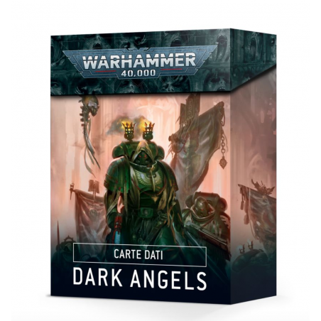 CARTE DATI dark angels WARHAMMER 40K games workshop IN ITALIANO citadel SET età 12+