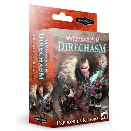 PREDONI DI KHAGRA warhammer underworldS DIRECHASM games workshop IN ITALIANO citadel SET età 12+