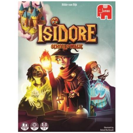 ISIDORE school of magic JUMBO gate on games EDIZIONE MULTILINGUE in italiano GIOCO DA TAVOLO età 6+