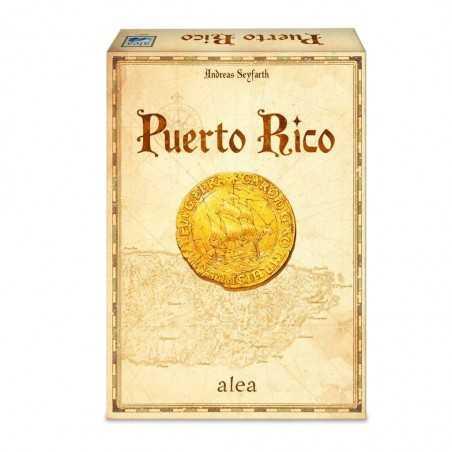 PUERTO RICO gestione risorse EDIZIONE 2020 sviluppo IN ITALIANO gioco da tavolo ALEA GAMES età 12+