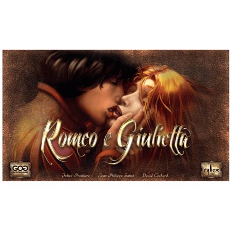 ROMEO E GIULIETTA gate on games IN ITALIANO gioco da tavolo PER 2 GIOCATORI età 14+
