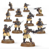 STEEL LEGION SQUAD 10 miniature in metallo GAMES WORKSHOP warhammer 40k CITADEL età 12+
