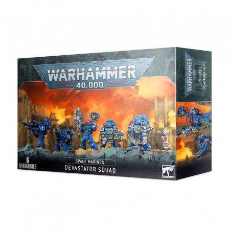 Space Marine Devastator Squad Warhammer 40.000 40k squadra devastatrice