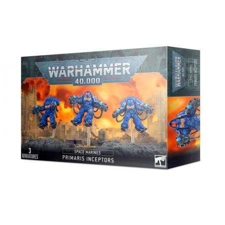 PRIMARIS INCEPTORS space marines 3 MINIATURE warhammer 40k CITADEL età 12+