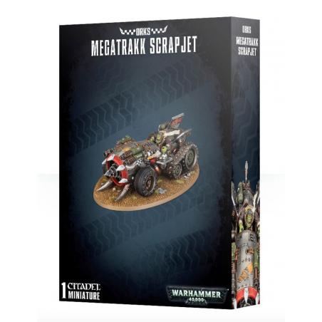 MEGATRAKK SCRAPJET 1 miniatura ORKS warhammer 40k CITADEL età 12+