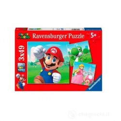 SUPER MARIO ravensburger 3...