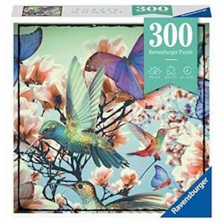 COLIBRI ravensburger PUZZLE MOMENT originale 300 PEZZI hummingbird 27 X 39 CM