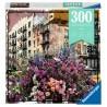 NEW YORK ravensburger PUZZLE MOMENT originale 300 PEZZI flowers 27 X 39 CM