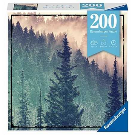 FORESTA ravensburger PUZZLE MOMENT originale 200 PEZZI wood 21 X 33 CM