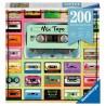 MIX TAPE ravensburger PUZZLE MOMENT originale 200 PEZZI cassette 21 X 33 CM