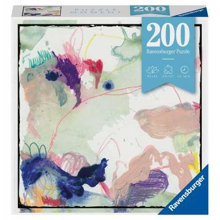 COLORSPLASH ravensburger PUZZLE MOMENT originale 200 PEZZI acquerello 21 X 33 CM