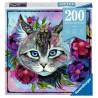 CATEYE ravensburger PUZZLE MOMENT originale 200 PEZZI gatto 21 X 33 CM