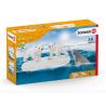 CUCCIOLI DI ORSO CON NARVALO e iceberg WILD LIFE miniature in resina SCHLEICH 42531 età 3+