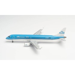 KLM CITYHOPPER EMBRAER E190 aereo HERPA WINGS 557580-001 scala 1:200 Herpa - 1