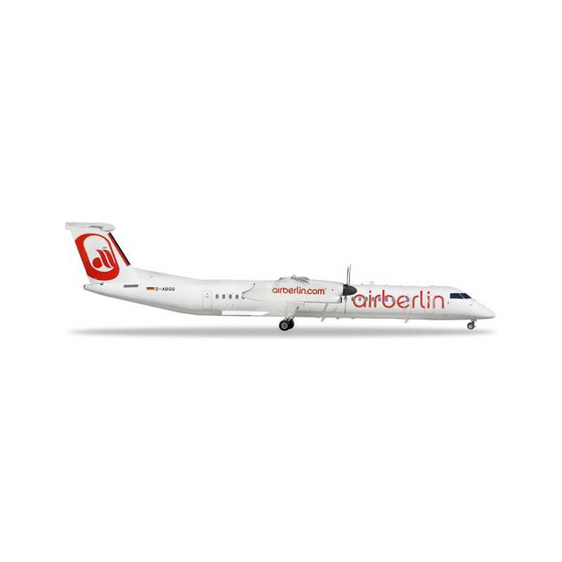 AIRBERLIN BOMBARDIER Q400 aereo HERPA WINGS 559355 scala 1:200 Herpa - 1