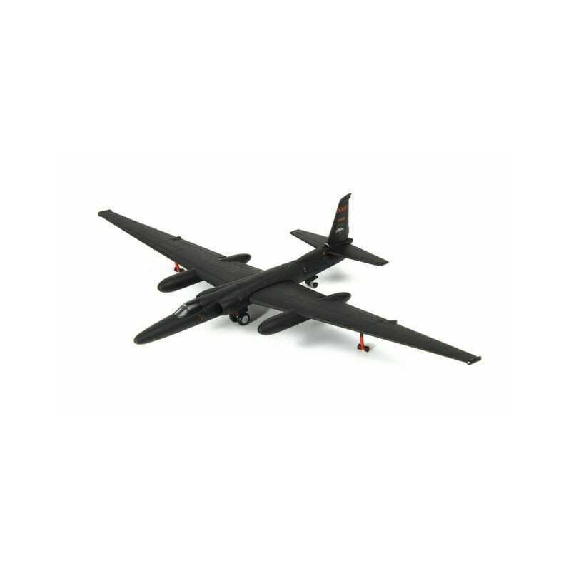 US AIR FORCE LOCKHEED MARTIN U-2R DRAGON LADY 5TH RS BLACK CATS OSAN AB KOREA scala 1:200 HERPA WINGS 559195 Herpa - 1