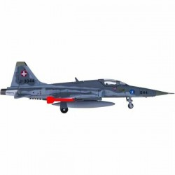 SWISS AIR FORCE NORTHROP F-5E TIGER 2 FLIEGERSTAFFEL 19 SION AIR BASE scala 1:200 HERPA WINGS 556309 Herpa - 1