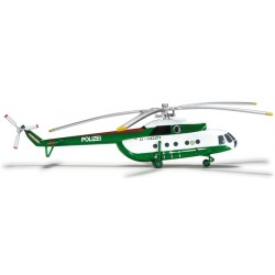 POLIZEI BRANDENBURG MIL MI-8 scala 1:200 HERPA WINGS elicottero 554893 Herpa - 1