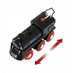 LOCOMOTIVA USB ricaricabile BRIO treno 33599 trenino RECHARGEABLE ENGINE WITH MINI USB CABLE età 3+ BRIO - 2