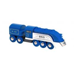 TRENO EDIZIONE SPECIALE 2021 trenino BRIO blu e argento 33642 locomotiva SPECIAL EDITION TRAIN età 3+ BRIO - 1