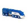 TRENO EDIZIONE SPECIALE 2021 trenino BRIO blu e argento 33642 locomotiva SPECIAL EDITION TRAIN età 3+ BRIO - 3