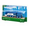 TRENO EDIZIONE SPECIALE 2021 trenino BRIO blu e argento 33642 locomotiva SPECIAL EDITION TRAIN età 3+ BRIO - 2