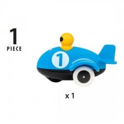 AEROPLANO SPINGI E VA push & go airplane BRIO aereo 30264 blu GIOCATTOLO età 12 mesi + BRIO - 5