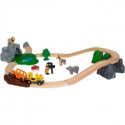 SAFARI AVVENTURA trenino BRIO treno 33960 ferrovia ADVENTURE SET età 3+ BRIO - 1