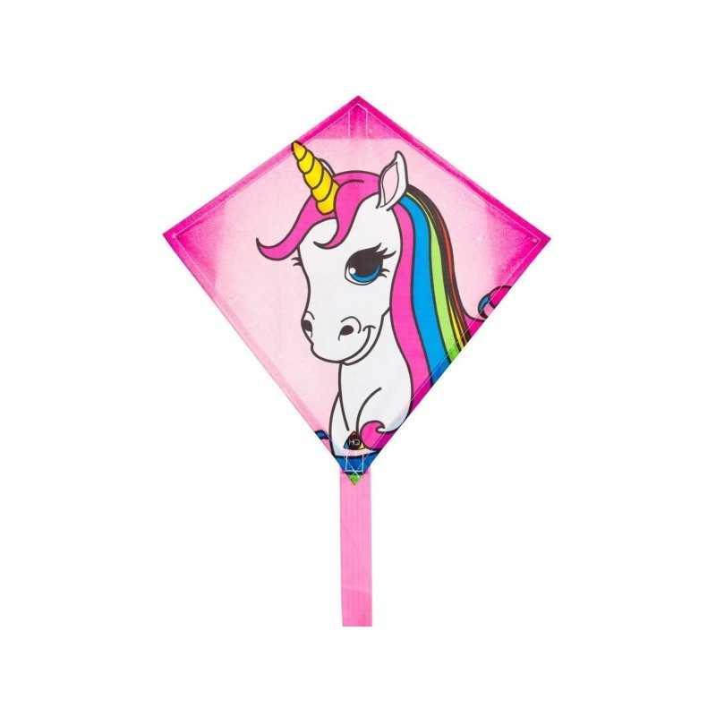 AQUILONE ready to fly MINI EDDY single line kites UNICORNO diamond INVENTO HQ codice 100011 età 5+ Invento HQ - 1
