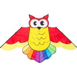 AQUILONE ready to fly OWL KITE single line GUFO diamond INVENTO HQ codice 105102 età 5+ Invento HQ - 1