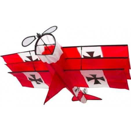 AQUILONE ready to fly RED BARON 3D single line kite BARONE ROSSO diamond INVENTO HQ codice 106015 età 8+ Invento HQ - 1