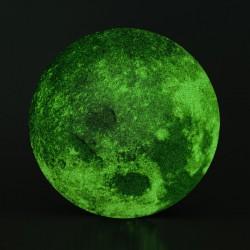 LUNA fosforescente ADESIVA glow in the dark SUPER MOON diametro 15cm LEGAMI effetto 3D Legami - 3