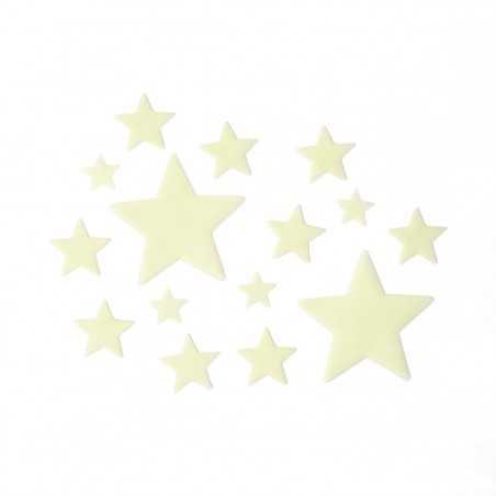 STELLE fosforescenti ADESIVE glow in the dark SUPER STARS set da 24 pezzi LEGAMI Legami - 1