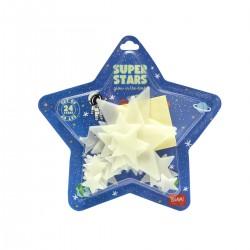 STELLE fosforescenti ADESIVE glow in the dark SUPER STARS set da 24 pezzi LEGAMI Legami - 2